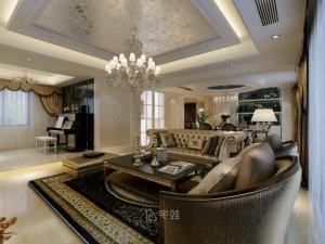 锦绣逸庭别墅项目装修图片 欧式古典风格设计