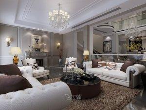 金地格林白金果岭图片 别墅装修设计案例展示