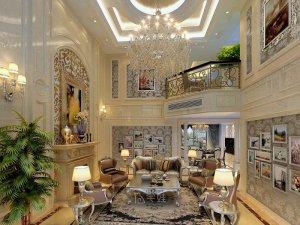 别墅项目装修图片 欧美风格设计案例展示