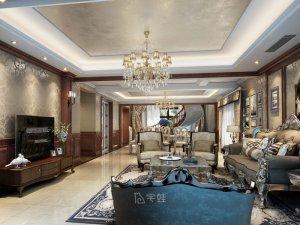 400平别墅全屋定制设计图片 美式风格设计效果图
