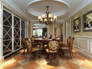保利叶语别墅项目装修图片 欧美风格设计案例展示