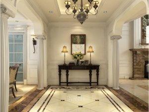 保利叶语别墅装修图片 欧美风格设计效果图