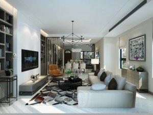 长泰西郊别墅项目装修 现代风格设计案例展示