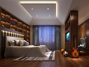 450平别墅全屋定制设计图片 中式风格设计案例