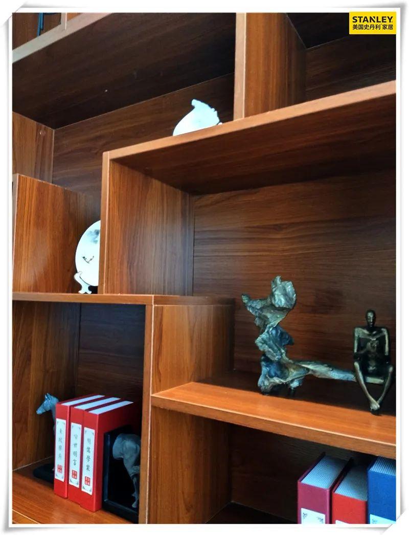 美国史丹利stanley家居 新中式禅意系列书柜