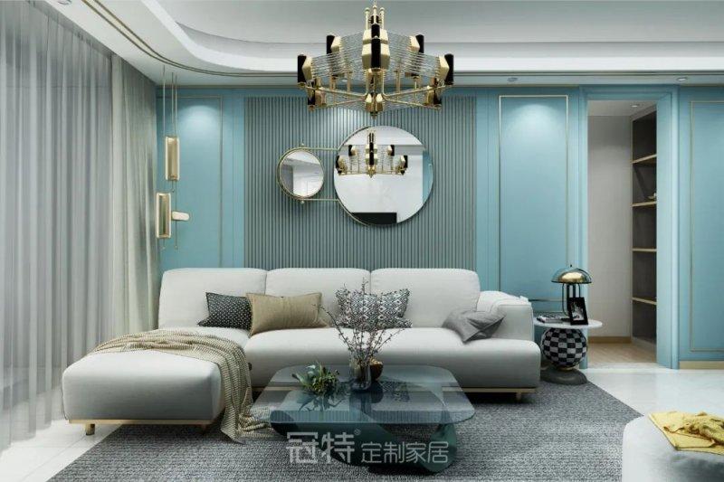 冠特金属元素家居设计 水磨石地板砖独具质感点亮你的家居空间