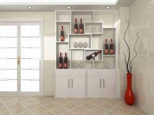 家居酒柜设计效果图 尽显您的高端品味