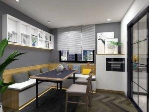 餐边柜设计 让餐厅更加充满高级感