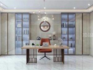 书柜设计效果图 让生活的味道不一样