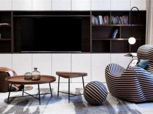 简约风格家装案例 用简洁实现空间的可静可动
