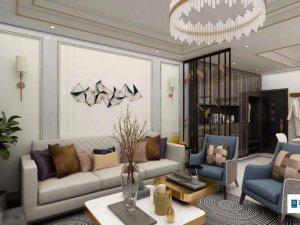 现代轻奢风格家装设计 让单调的空间显得更饱满
