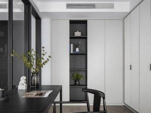 书柜设计案例 一款颜值与收纳并存的书柜