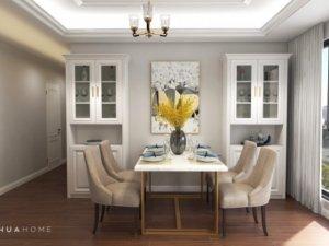 轻奢美式风格家装设计 清新优雅的气质之家