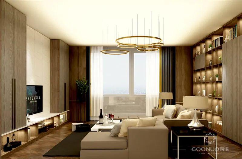 电视柜设计 让你的房子简单又有创意_2