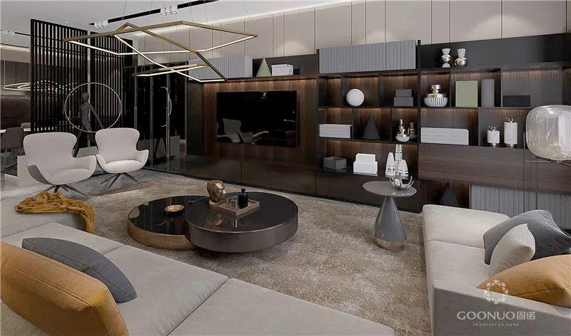 电视柜设计 让你的房子简单又有创意_5