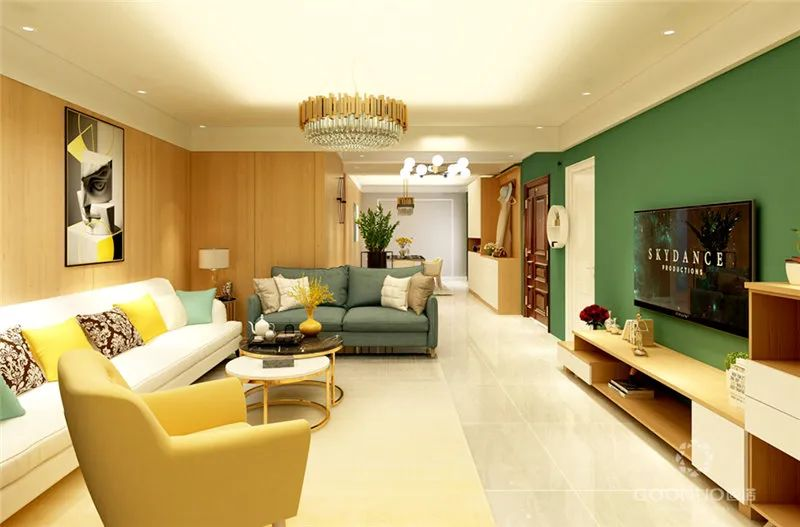 电视柜设计 让你的房子简单又有创意_3