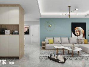 98㎡家装设计案例 满足收纳同时还美观