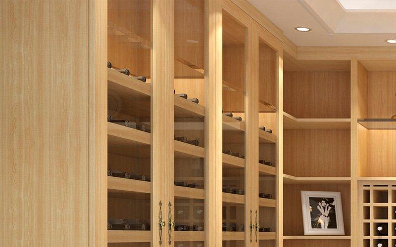 伊沙贝拉 伊米兰格全铝书柜酒窖