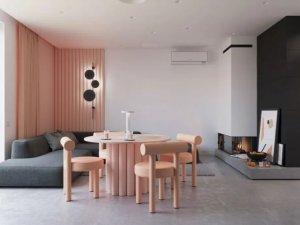 现代风格家装案例 撩人轻熟风LOFT住宅