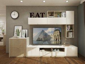 电视柜设计方案 让客厅也有高颜值