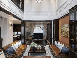 中式风格家居设计 原木与豪宅的完美搭配