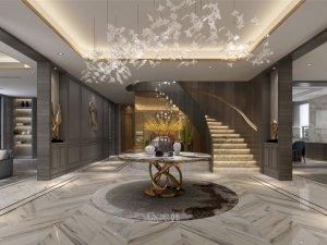 600平独栋别墅现代简约风格设计案例