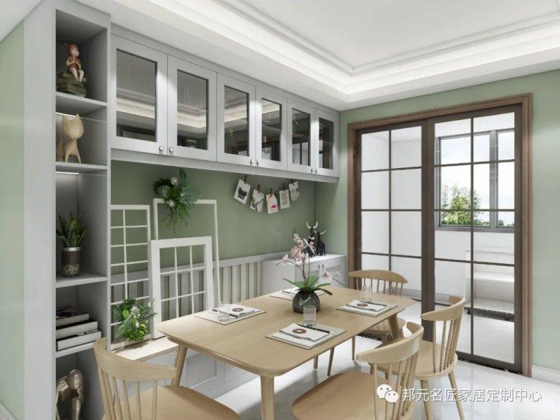 30款餐边柜设计效果图 每款都能让家里颜值倍增_12