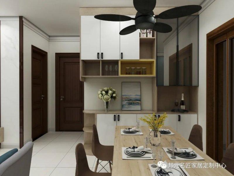 30款餐边柜设计效果图 每款都能让家里颜值倍增_6