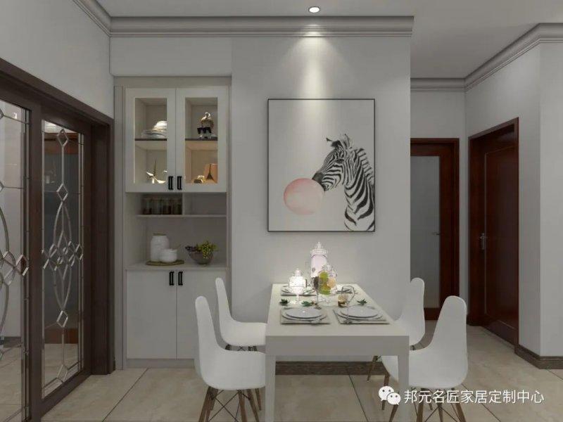 30款餐边柜设计效果图 每款都能让家里颜值倍增_22