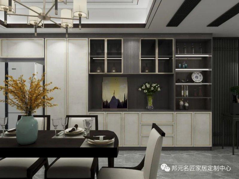 30款餐边柜设计效果图 每款都能让家里颜值倍增_21