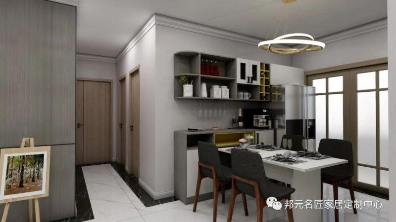 30款餐边柜设计效果图 每款都能让家里颜值倍增_1