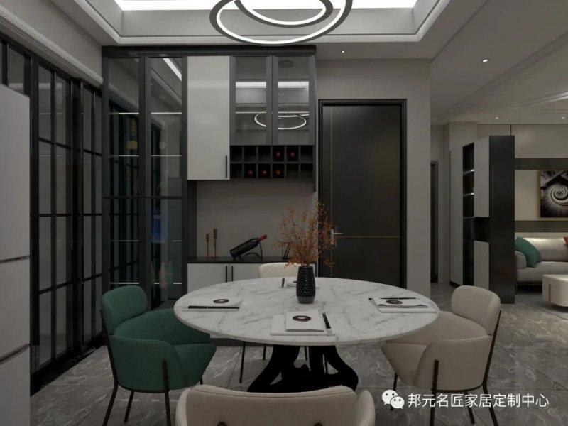 30款餐边柜设计效果图 每款都能让家里颜值倍增_4