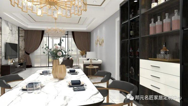 30款餐边柜设计效果图 每款都能让家里颜值倍增_26