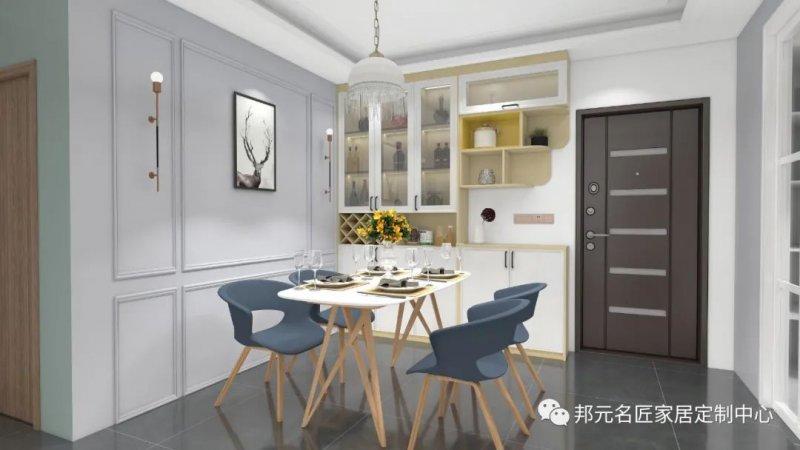 30款餐边柜设计效果图 每款都能让家里颜值倍增_28
