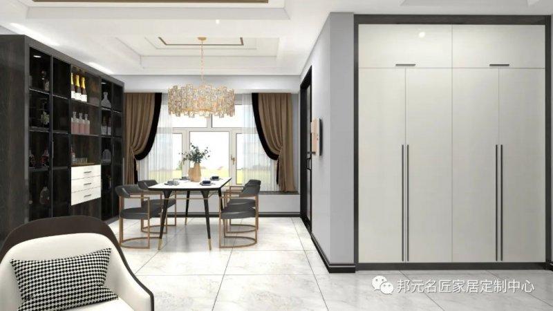 30款餐边柜设计效果图 每款都能让家里颜值倍增_27