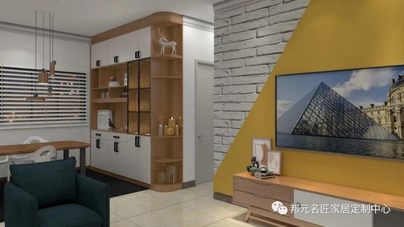 30款餐边柜设计效果图 每款都能让家里颜值倍增_3