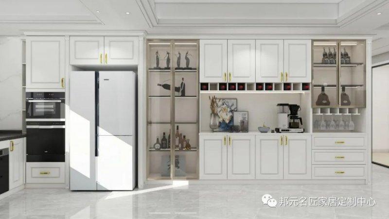 30款餐边柜设计效果图 每款都能让家里颜值倍增_18