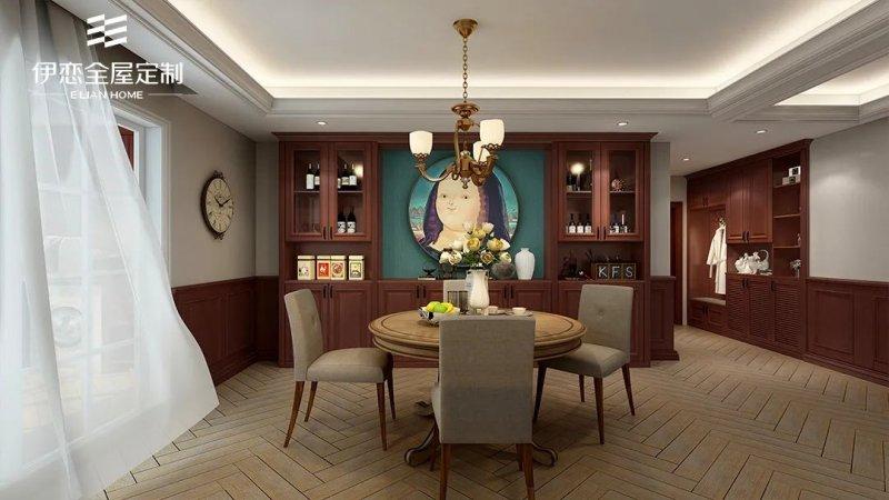 餐厅设计效果图 营造出温馨活力的用餐之地