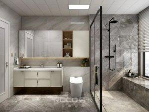 劳卡全屋定制高颜值浴室柜产品图片