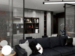 合生雅居高端板木定制「兰德克纳系列」效果图