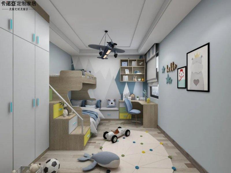 卡诺亚定制家居 缤纷乐园系列儿童房图片