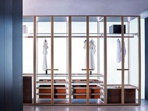 SPAZIO斯帕奇奥高端定制家居铝玻定制衣柜系统