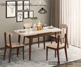 双虎全屋家具 北欧餐厅系列效果图
