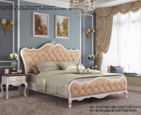 双虎全屋家具 法式卧室系列效果图