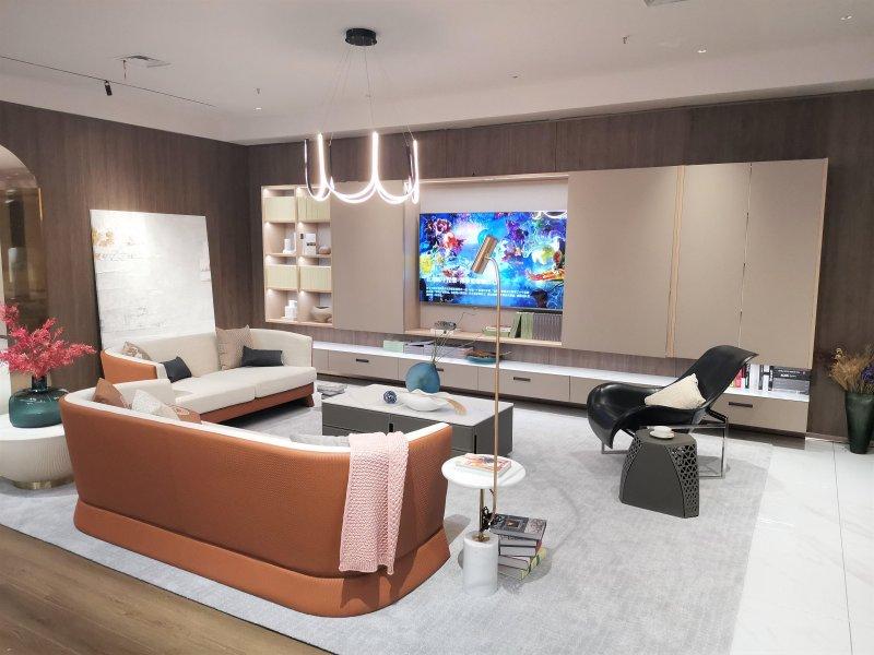 斯帕奇奥高端定制家居 客厅空间产品装修图片_5