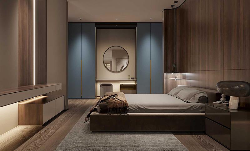 lox洛克斯全屋家居 卧室空间效果图
