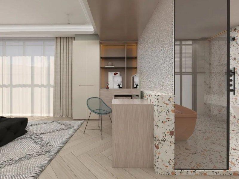 合生雅居高端板木定制效果图 莫兰迪·纳米系列产品图片_22